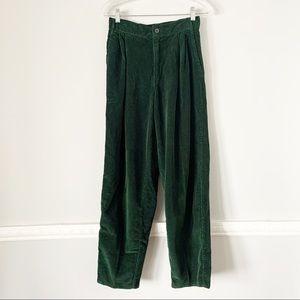 Vintage Colors of Benetton Green Corduroy Pants 6